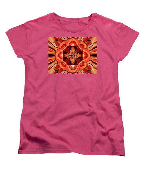 Candle Inspired #1173-4 Women's T-Shirt (Standard Cut) by Barbara Tristan