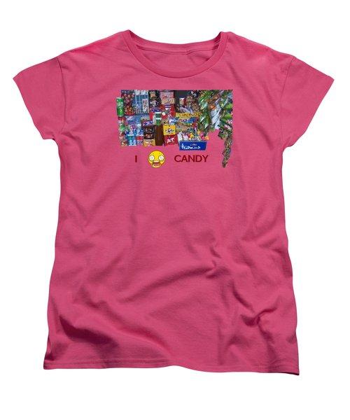 Candy Women's T-Shirt (Standard Cut) by David and Lynn Keller