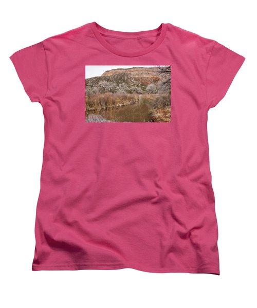 Canyon River Women's T-Shirt (Standard Cut) by Ricky Dean