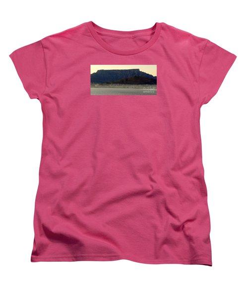 Cape Town Under Table Rock Women's T-Shirt (Standard Cut) by John Potts