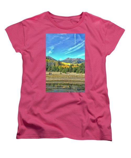 Captured Women's T-Shirt (Standard Cut) by Tom Kelly