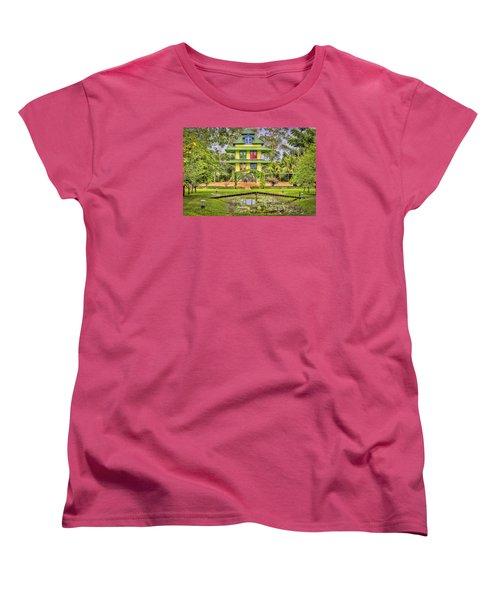Caribbean Home Women's T-Shirt (Standard Cut) by Nadia Sanowar