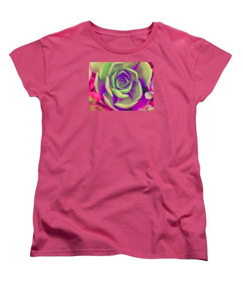 Carousel Women's T-Shirt (Standard Cut) by Vivien Rhyan