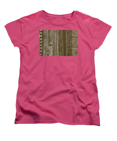 Carving - 1 Women's T-Shirt (Standard Cut) by Nikolyn McDonald