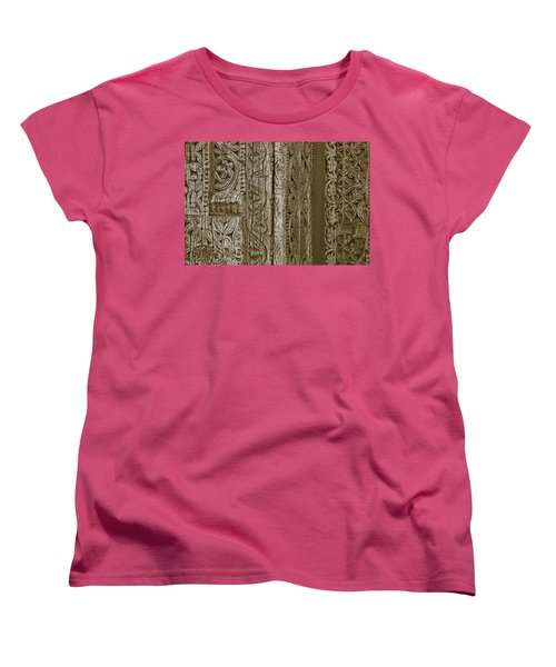Carving - 2 Women's T-Shirt (Standard Cut) by Nikolyn McDonald