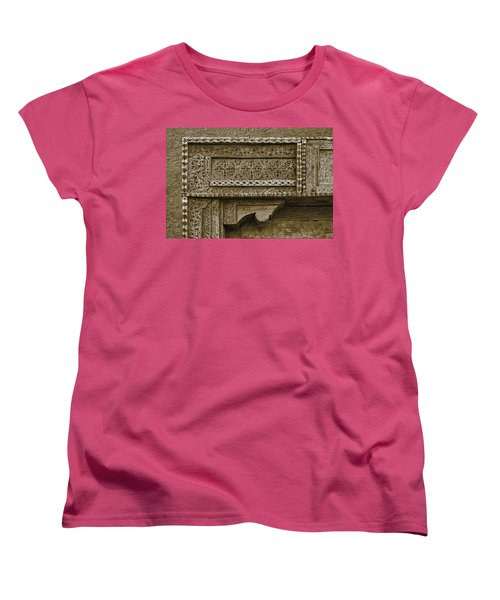 Carving - 3 Women's T-Shirt (Standard Cut) by Nikolyn McDonald