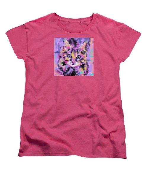 Cat Wild Thing Women's T-Shirt (Standard Cut) by Go Van Kampen