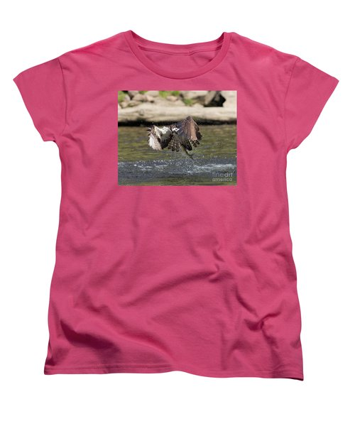 Catch Of The Day Women's T-Shirt (Standard Cut) by Ursula Lawrence