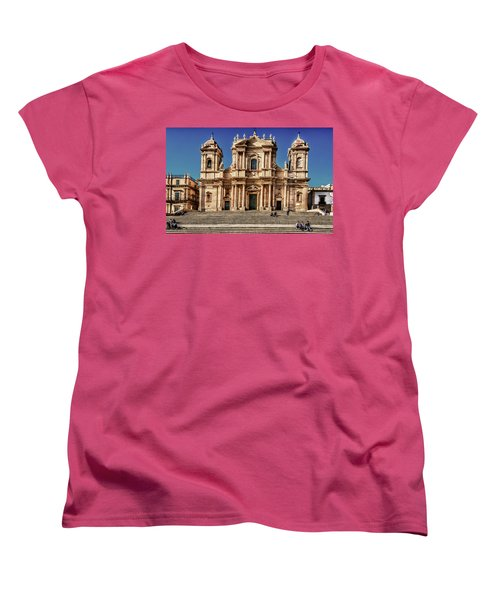 Cathedral II Women's T-Shirt (Standard Cut) by Patrick Boening