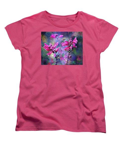 Celestial Blooms-2 Women's T-Shirt (Standard Cut) by Kathy M Krause