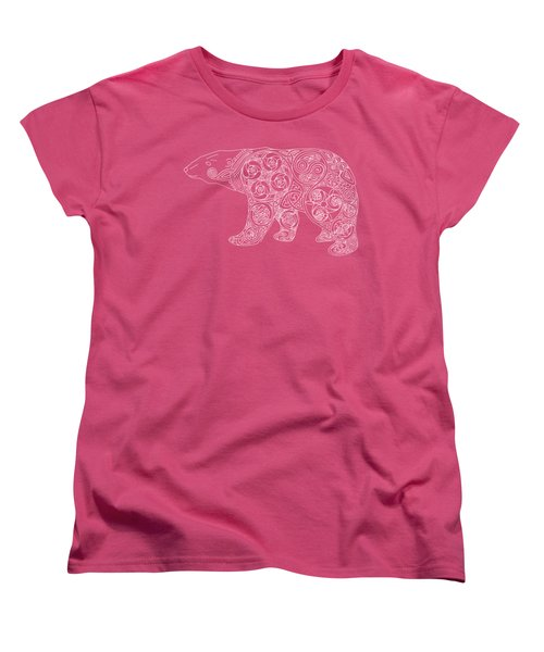 Celtic Polar Bear Women's T-Shirt (Standard Cut) by Kristen Fox