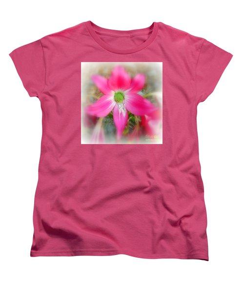 Women's T-Shirt (Standard Cut) featuring the photograph Center Attraction by Myrna Bradshaw