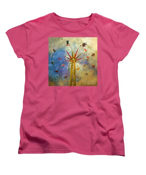 Women's T-Shirt (Standard Cut) featuring the photograph Centre Of The Universe by LemonArt Photography