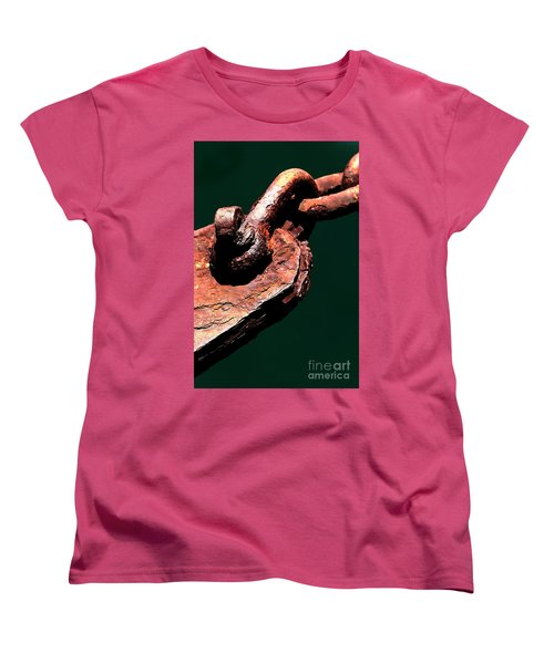 Women's T-Shirt (Standard Cut) featuring the photograph Chain Age II by Stephen Mitchell