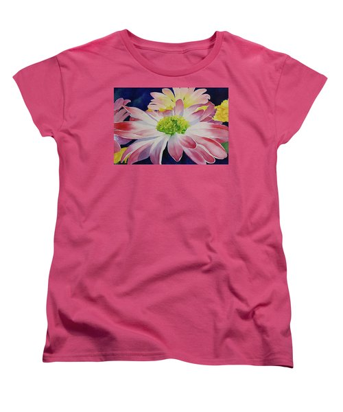 Women's T-Shirt (Standard Cut) featuring the painting Charisma by Judy Mercer
