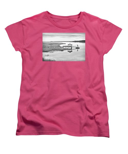 Chechessee Dock Women's T-Shirt (Standard Cut)