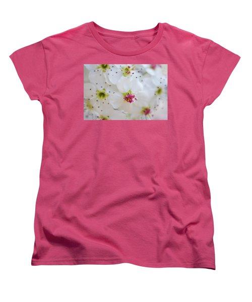Women's T-Shirt (Standard Cut) featuring the photograph Cherry Blooms by Darren White