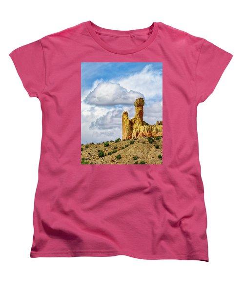 Chimney Rock  Women's T-Shirt (Standard Cut) by Robert FERD Frank