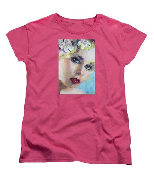 Chris Women's T-Shirt (Standard Cut) by Richard Barone
