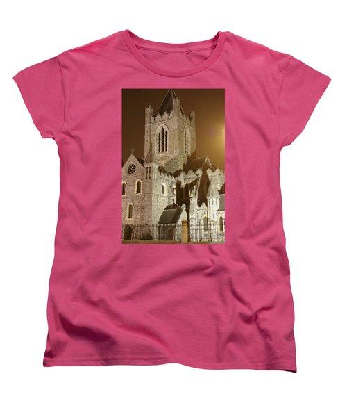 Christ Church Dublin Ireland Women's T-Shirt (Standard Cut) by Henri Irizarri