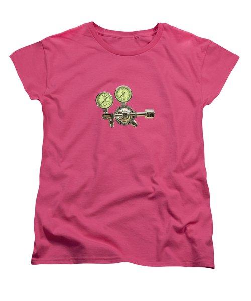 Chrome Regulator Gauges Women's T-Shirt (Standard Cut) by YoPedro