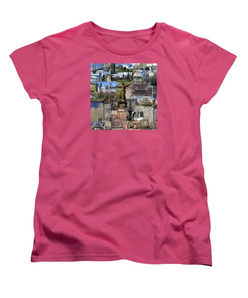 Cincinnati's Favorite Landmarks Women's T-Shirt (Standard Cut) by Robert Glover