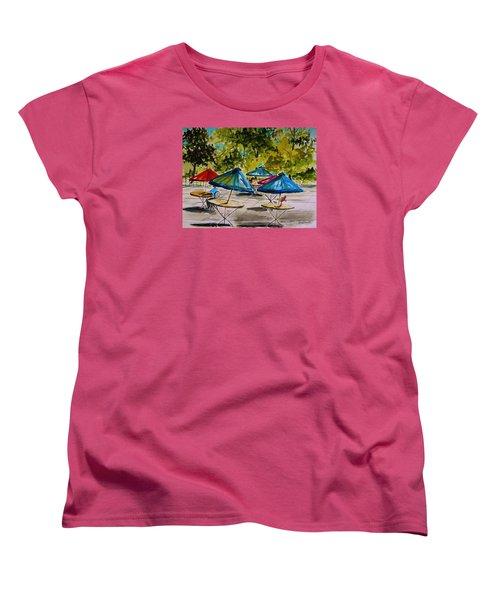 City Cafe Women's T-Shirt (Standard Cut) by John Williams