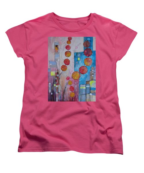 City Festival Women's T-Shirt (Standard Cut) by Karin Husty