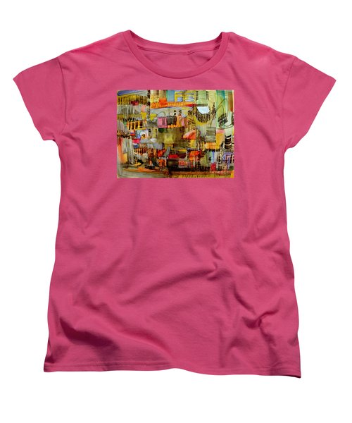 City Life  Women's T-Shirt (Standard Cut) by Nancy Kane Chapman