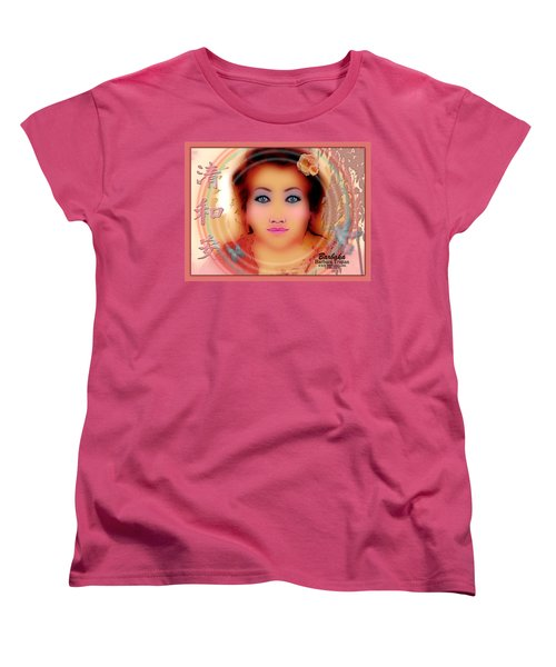 Women's T-Shirt (Standard Cut) featuring the photograph Clarity Harmony Tranquility by Barbara Tristan
