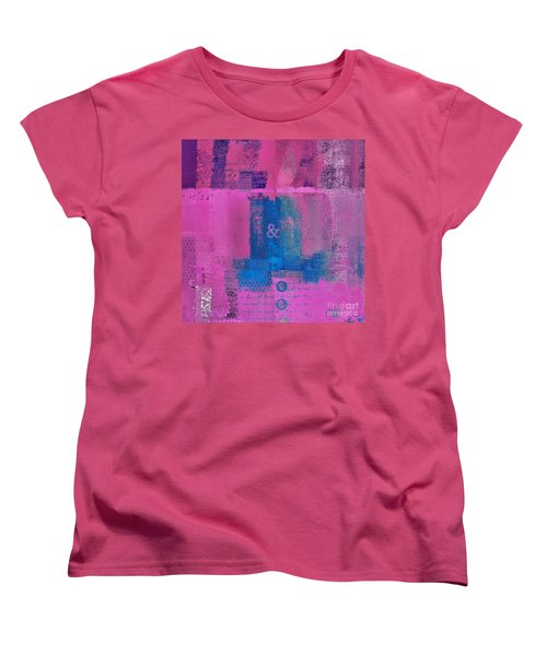 Women's T-Shirt (Standard Cut) featuring the digital art Classico - S0307d by Variance Collections