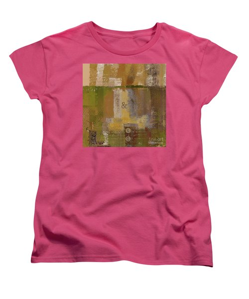 Women's T-Shirt (Standard Cut) featuring the digital art Classico - S0309b by Variance Collections