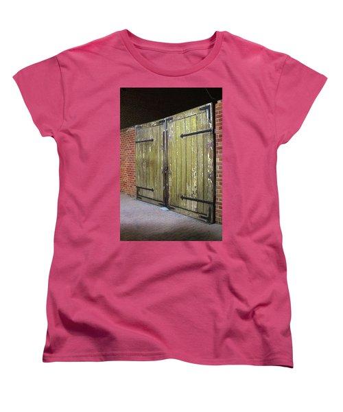 Closed Until Tomorrow Women's T-Shirt (Standard Cut) by Viktor Savchenko