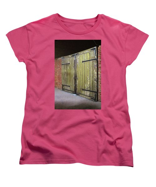 Women's T-Shirt (Standard Cut) featuring the photograph Closed Until Tomorrow by Viktor Savchenko