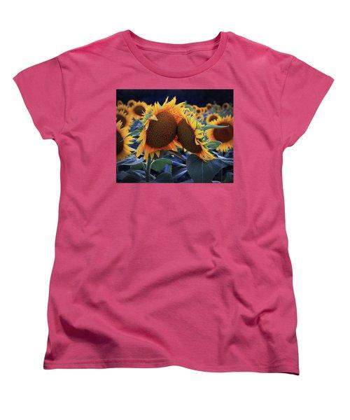 Closest Of Friends Women's T-Shirt (Standard Cut) by Christopher McKenzie