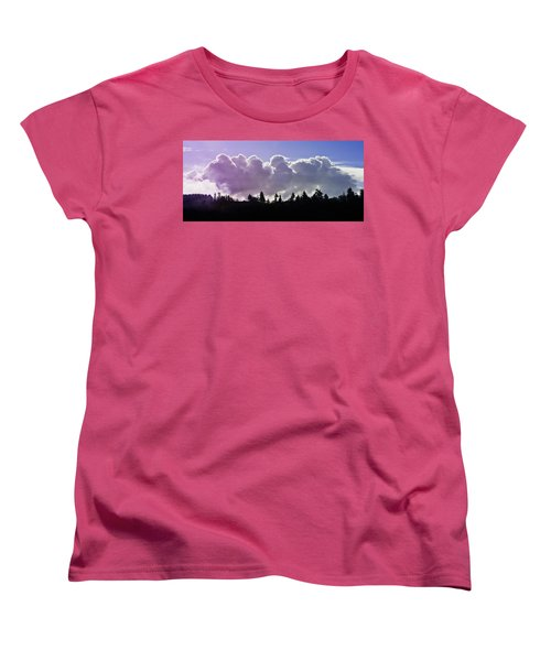 Cloud Express Women's T-Shirt (Standard Cut) by Adria Trail