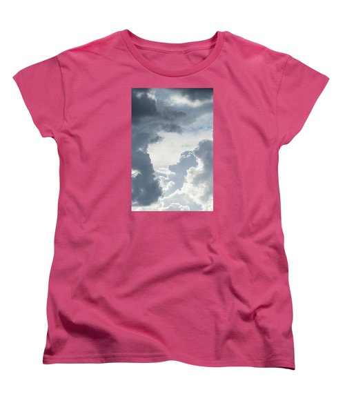 Cloud Painting Women's T-Shirt (Standard Cut) by Laura Pratt