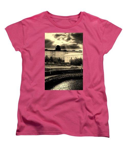 Clouds Over Minsk Women's T-Shirt (Standard Cut) by Vadim Levin