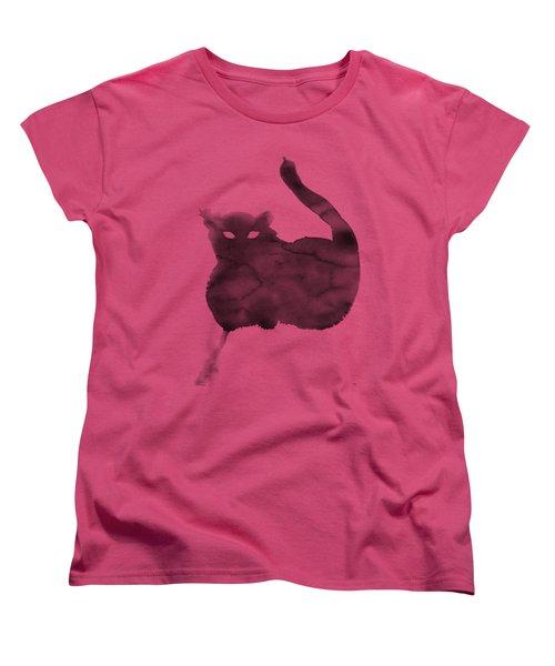 Cloudy Cat Women's T-Shirt (Standard Cut)