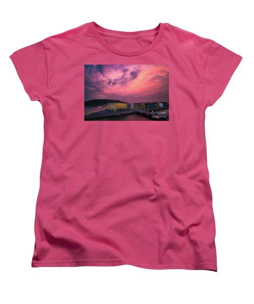 Cloudy  Women's T-Shirt (Standard Cut) by Mariusz Czajkowski