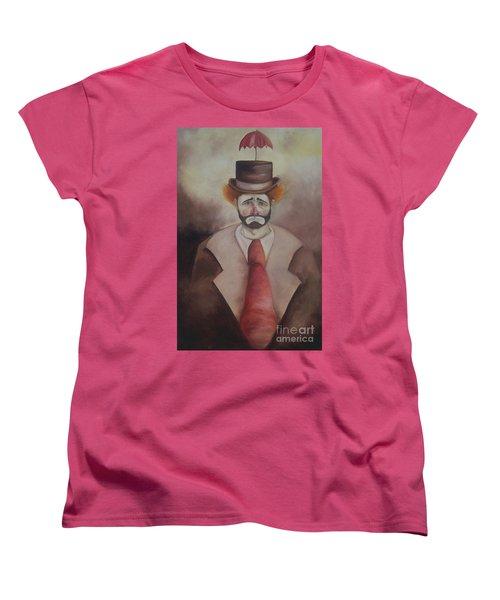 Clown Women's T-Shirt (Standard Cut) by Marlene Book