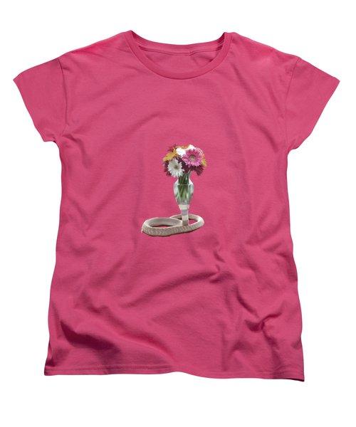 Cobra Vase Women's T-Shirt (Standard Cut) by Keshava Shukla