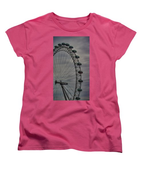 Coca Cola London Eye Women's T-Shirt (Standard Cut) by Martin Newman