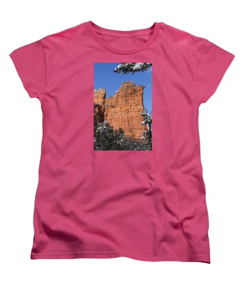 Coffee Pot Rock Women's T-Shirt (Standard Cut) by Laura Pratt