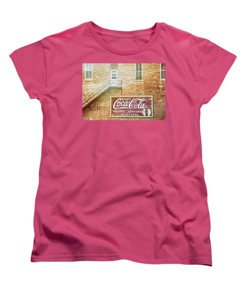 Women's T-Shirt (Standard Cut) featuring the photograph Coke Classic by Darren White