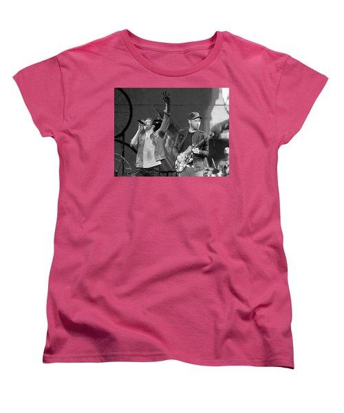 Coldplay 14 Women's T-Shirt (Standard Cut) by Rafa Rivas