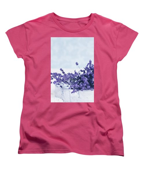 Collection Of Lavender  Women's T-Shirt (Standard Cut) by Stephanie Frey