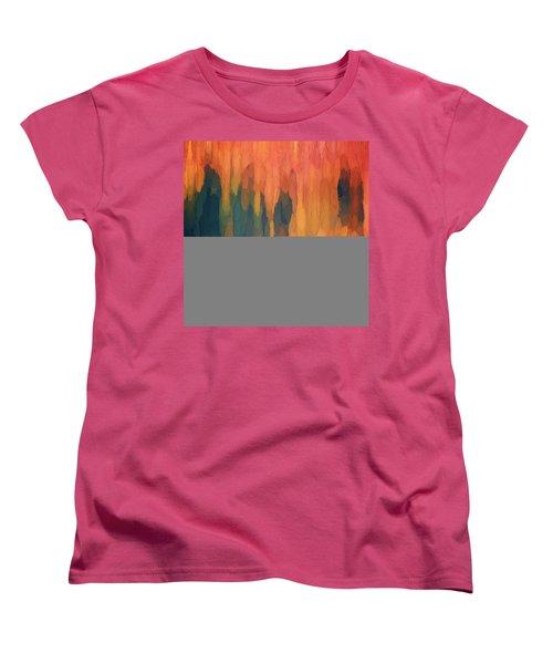 Color Abstraction L Sq Women's T-Shirt (Standard Cut)