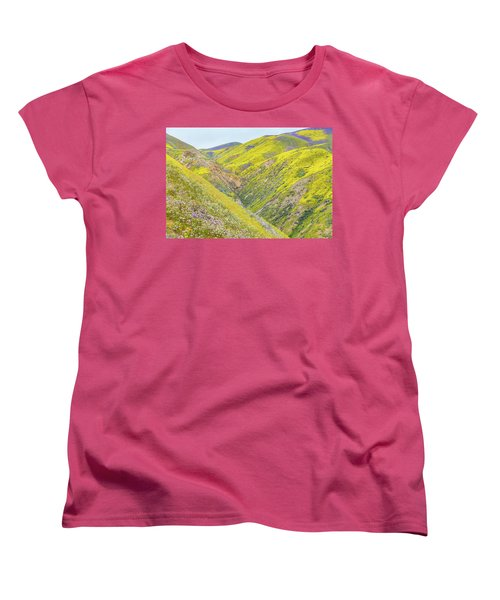 Women's T-Shirt (Standard Cut) featuring the photograph Colorful Canyon by Marc Crumpler