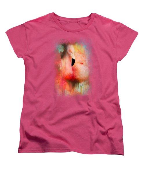 Colorful Expressions Flamingo Women's T-Shirt (Standard Cut)